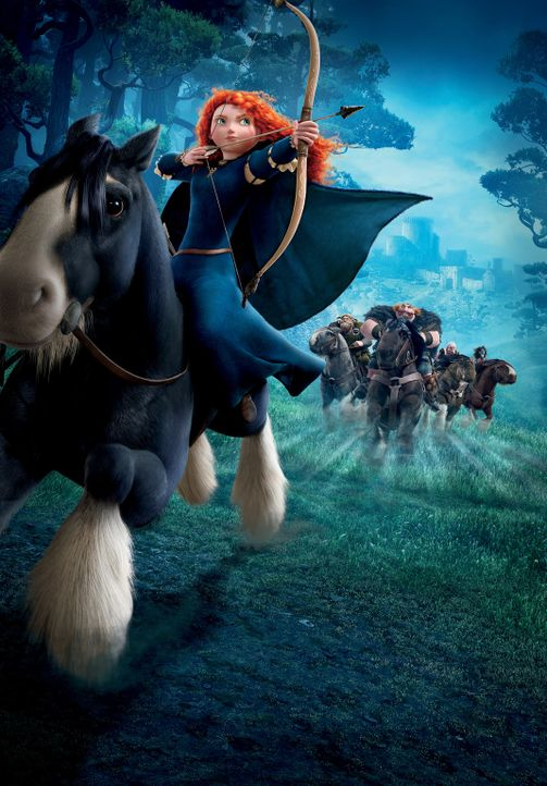 Merida - Legende der Highlands - Artwork - Bildquelle: Disney/Pixar. All rights reserved