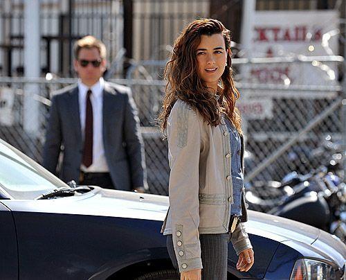 Die Ermittlungen führen Ziva (Cote de Pablo) und DiNozzo (Michael Weatherly) in die Bikerszene. - Bildquelle: CBS Television