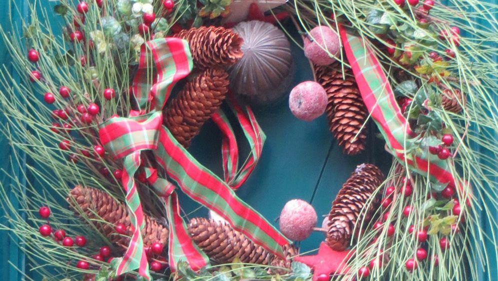 Gebastelte Weihnachtsdeko.Weihnachtsdeko Hauseingang Festlich Schmücken Sat 1 Ratgeber