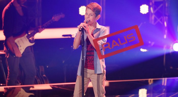 The-Voice-Kids-Stf04-RAUS-Ilan-SAT1-Richard-Huebner - Bildquelle: © SAT.1/ Richard Hübner