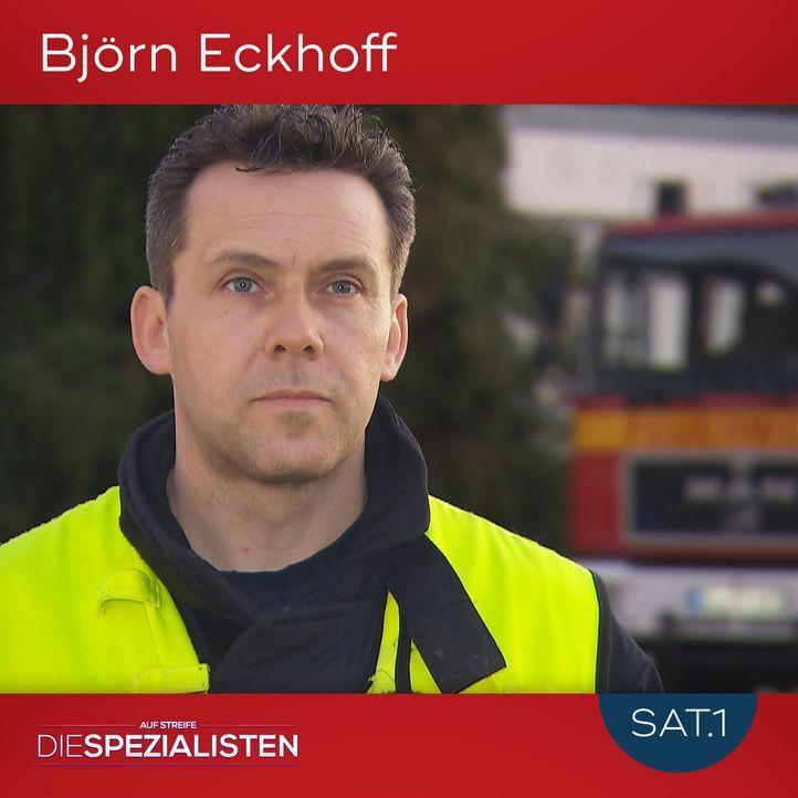 Björn Eckhoff - Bildquelle: SAT.1