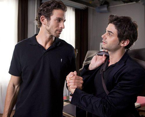 Schlagen eine neue Richtung in ihrem Leben ein: Michael und Sebastian. - Bildquelle: David Saretzki - Sat1