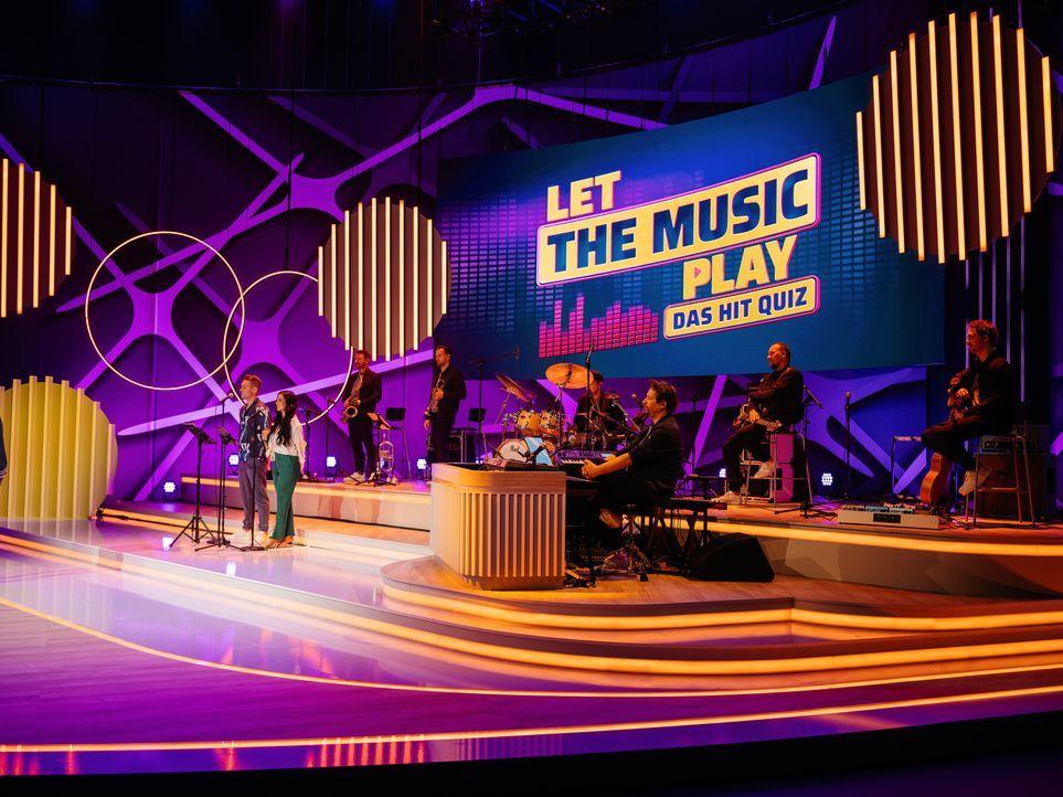 Let the music play - Das Hit Quiz - Bildquelle: Stefan Neumann SAT.1 / Stefan Neumann