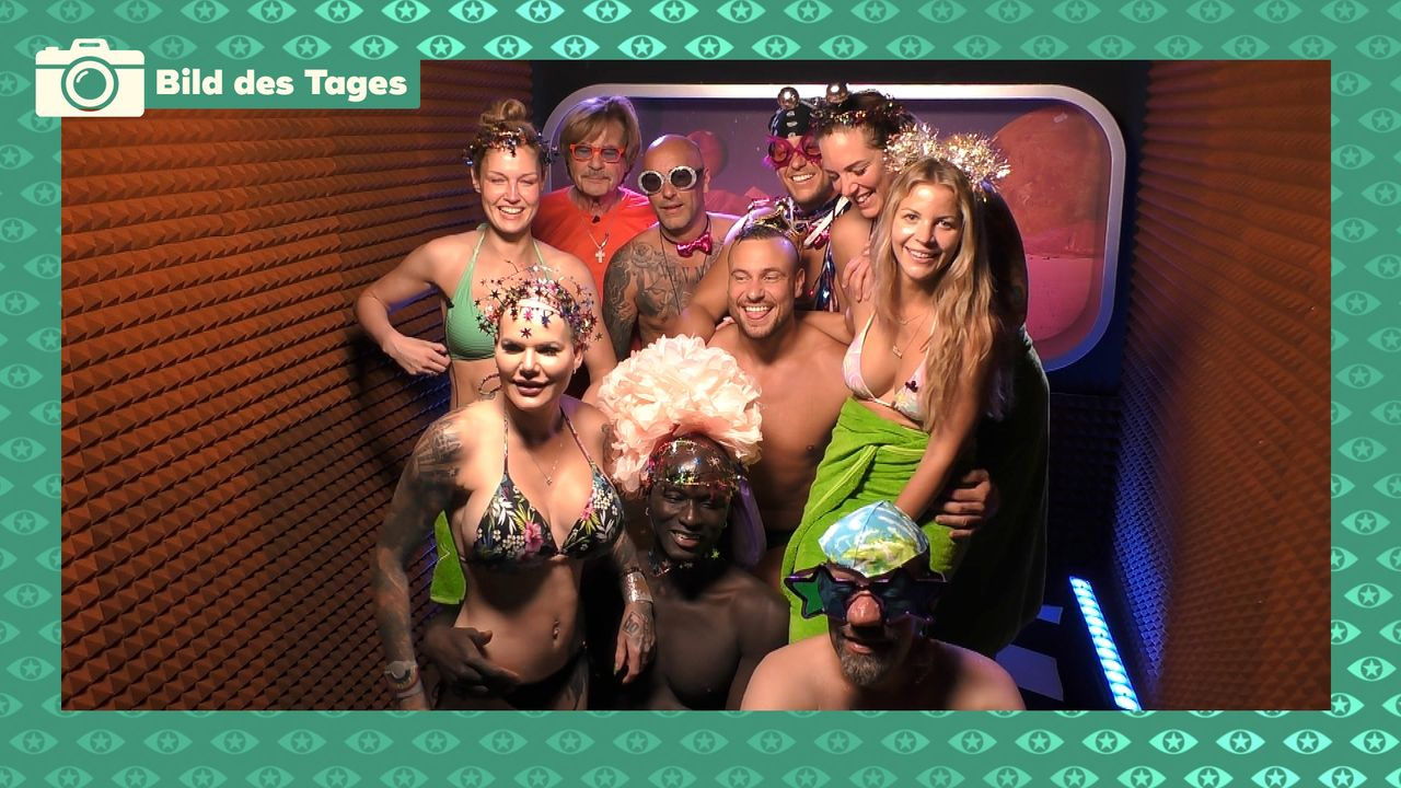 Party bei Promi Big Brother