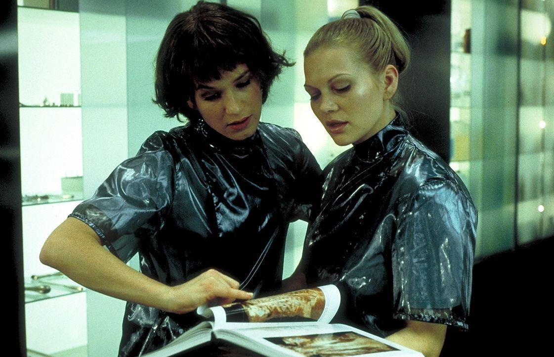 Als Jahrgangsbeste werden die Medizinstudentinnen Gretchen (Anna Loos, r.) und Paula (Franka Potente, l.) zu einem elitären Anatomie - Forschungsle... - Bildquelle: Columbia Pictures