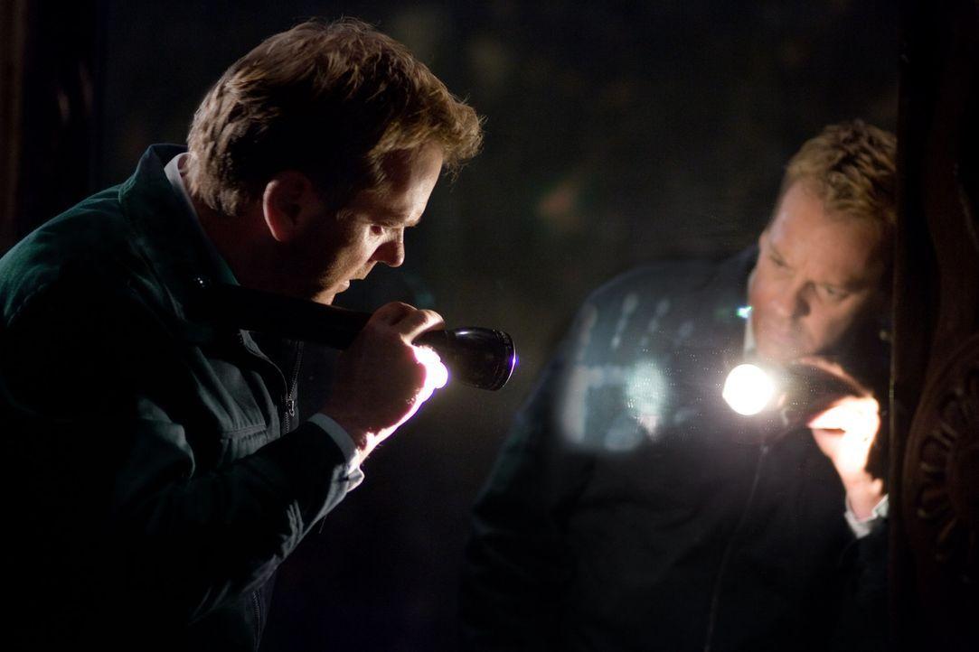 Fast zu spät erkennt Ben (Kiefer Sutherland), dass sich hinter den Spiegeln etwas richtig Böses verbirgt ... - Bildquelle: 2007 Regency Enterprises, New Regency Pictures