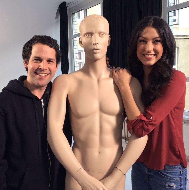 Victor Mids mit GNTMs Rebecca Mir