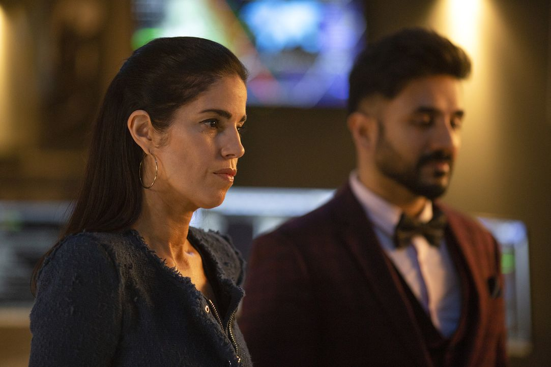 Susan Sampson (Ana Ortiz, l.); Jai Datta (Vir Das, r.) - Bildquelle: Nick Ray 2018 American Broadcasting Companies, Inc. All rights reserved.