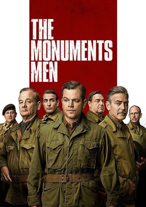 MONUMENTS MEN - UNGEWÖHNLICHE HELDEN - Artwork - Bildquelle: 2014 Columbia Pictures Industries, Inc. and Twentieth Century Fox Film Corporation. All rights reserved.