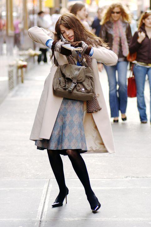 Wird von ihrer hysterischen und manipulativen Chefin schikaniert: Andy (Anne Hathaway) ... - Bildquelle: 2006 Twentieth Century Fox