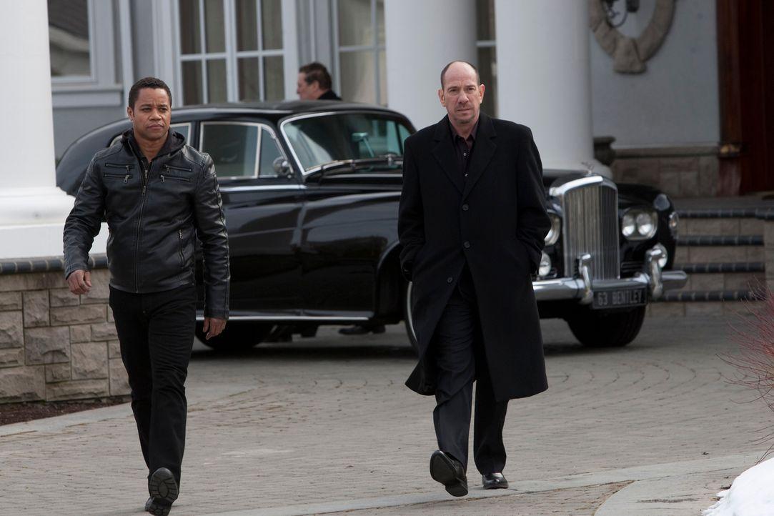 Seit er als kleiner Junge von ihm gerettet wurde, arbeitet Joshua (Cuba Gooding Jr., l.) als Auftragskiller für Gangsterboss Vincent (Miguel Ferrer,... - Bildquelle: Paramount. All Rights Reserved.