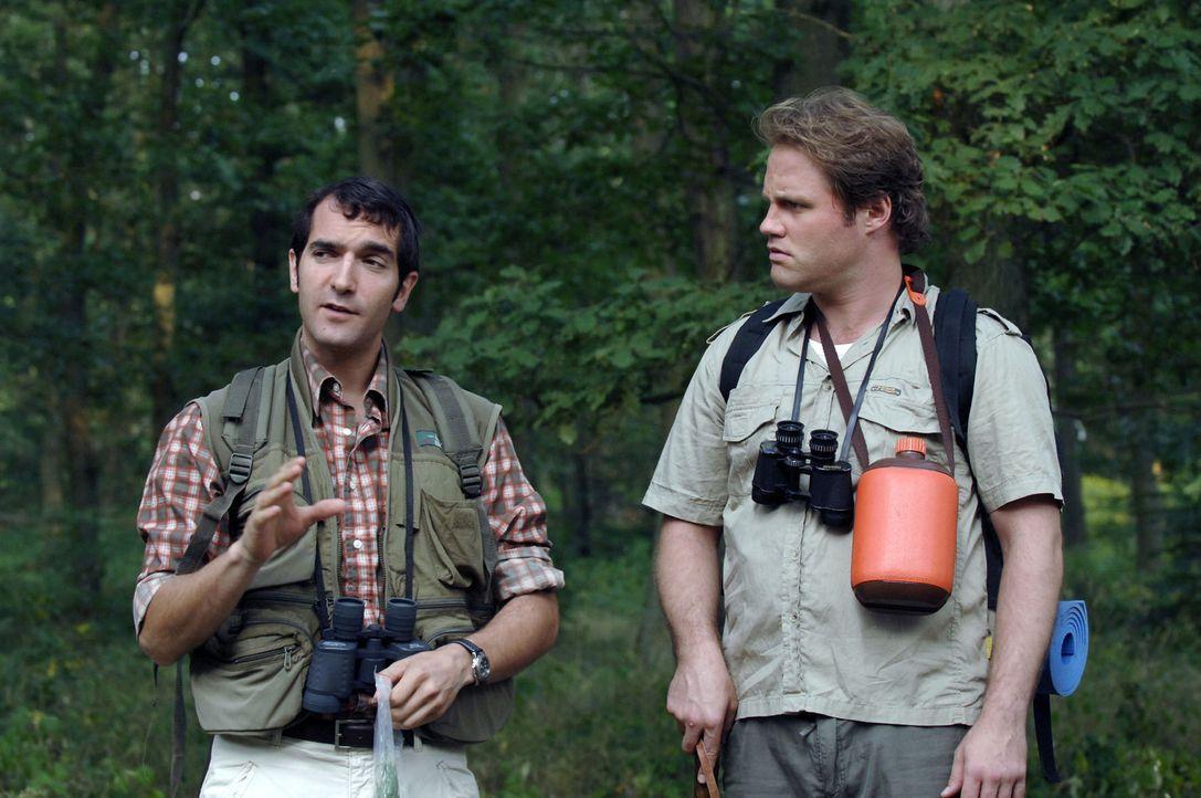 Wandern ist ein entspannendes Hobby. Gut geplant sollte die Tour aber sein, denn wie oft hat man schon von verirrten Wanderern gehört? Wo ist denn... - Bildquelle: Sat.1