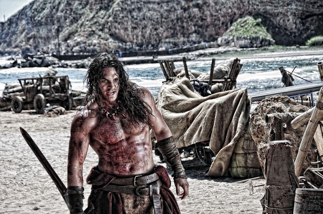 Conan (Jason Momoa) will Rache! Er macht sich auf die Suche nach jenem barbarischen und überaus sadistischen Warlord Khalar Zym, der für den Tod sei... - Bildquelle: Nu Image Films
