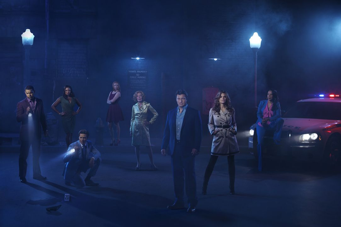 (5. Staffel) - Viele spannende Fälle warten auf (v.l.n.r.) Javier Esposito (Jon Huertas), Lanie Parish (Tamala Jones), Kevin Ryan (Seamus Dever), A... - Bildquelle: ABC Studios