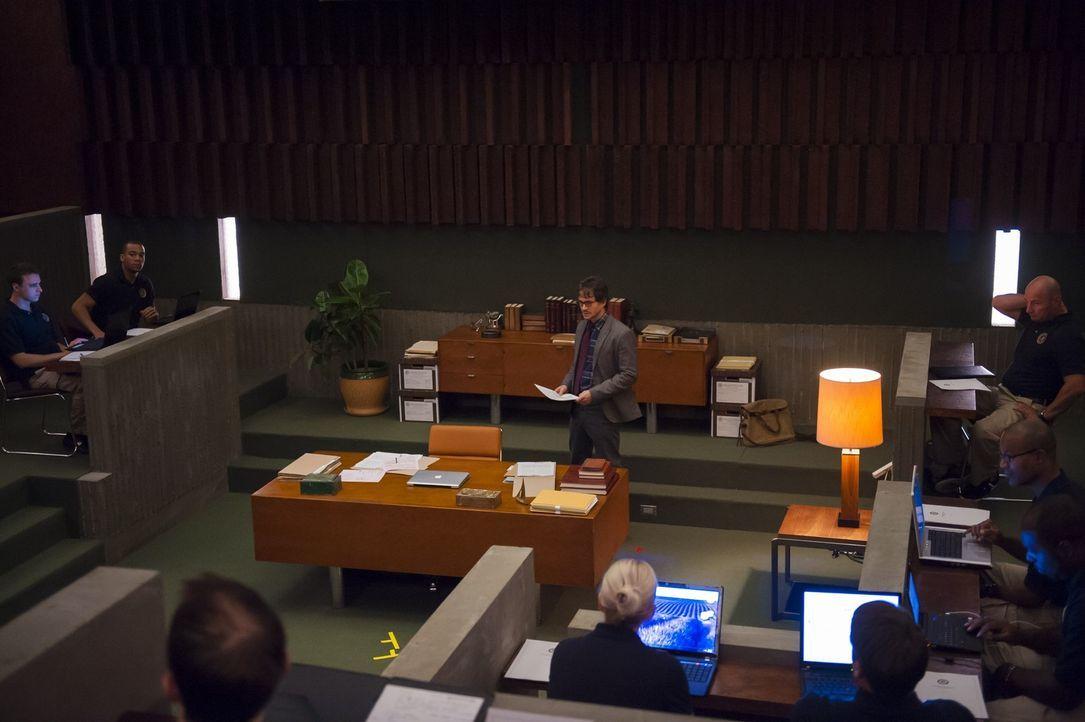 Bei seinen Vorlesungen hat Will Graham (Hugh Dancy, M.) immer sehr interessierte Zuhörer, die an seinen Lippen hängen ... - Bildquelle: Brooke Palmer 2012 NBCUniversal Media, LLC