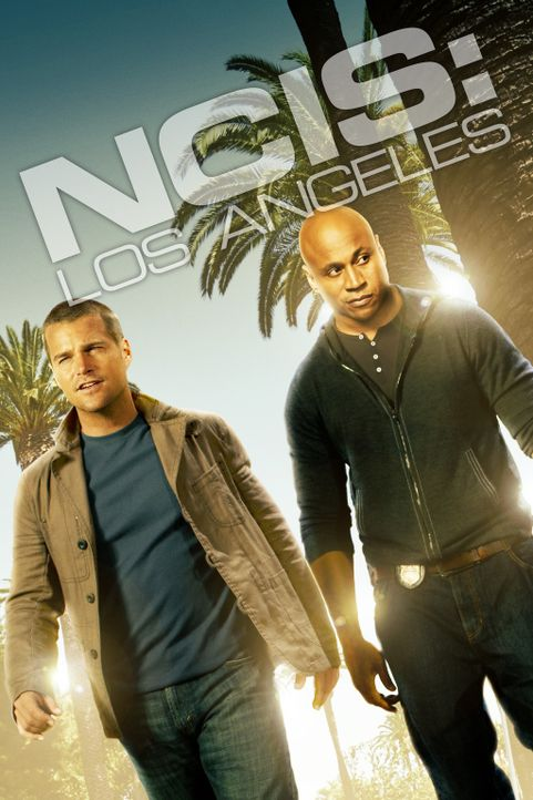 (7. Staffel) - Navy CIS: L.A.: Special Agent G. Callen (Chris O'Donnell, l.) und Special Agent Sam Hanna (LL Cool J, r.) ... - Bildquelle: 2015 CBS Studios Inc. All Rights Reserved.