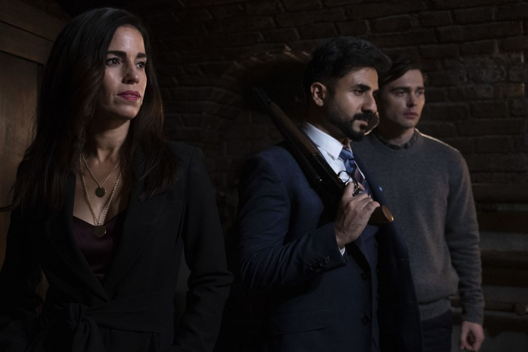 (v.l.n.r.) Susan Sampson (Ana Ortiz); Jai Datta (Vir Das); Paul (Joe Doyle) - Bildquelle: Dusan Martincek 2018 American Broadcasting Companies, Inc. All rights reserved.