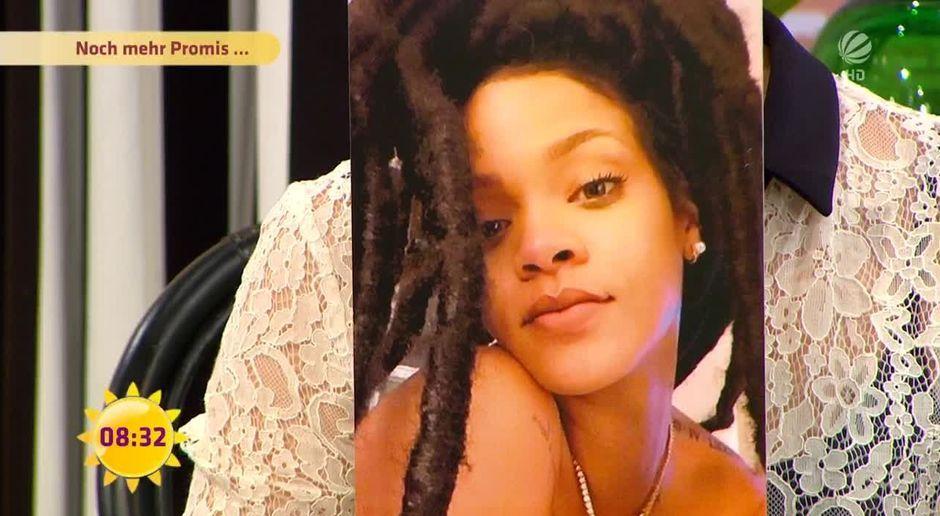 Neue Frisur Hat Rihanna Liebeskummer