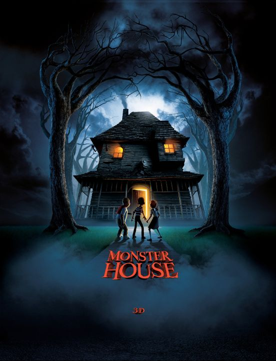 """Monster House"" - Plakatmotiv - Bildquelle: Sony Pictures Television International. All Rights Reserved."