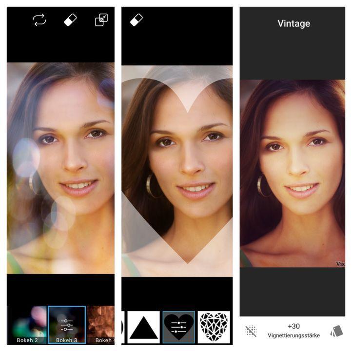 """PicsArt(verfügbar im AppStore)Die App """"PicsArt Photo Studio"""" wirkt auf den e..."""