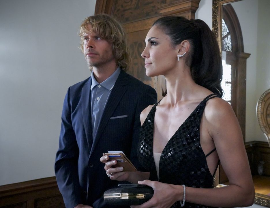 Marty Deeks (Eric Christian Olsen, l.); Kensi Blye (Daniela Ruah, r.) - Bildquelle: Bill Inoshita 2019 CBS Broadcasting, Inc. All Rights Reserved. / Bill Inoshita