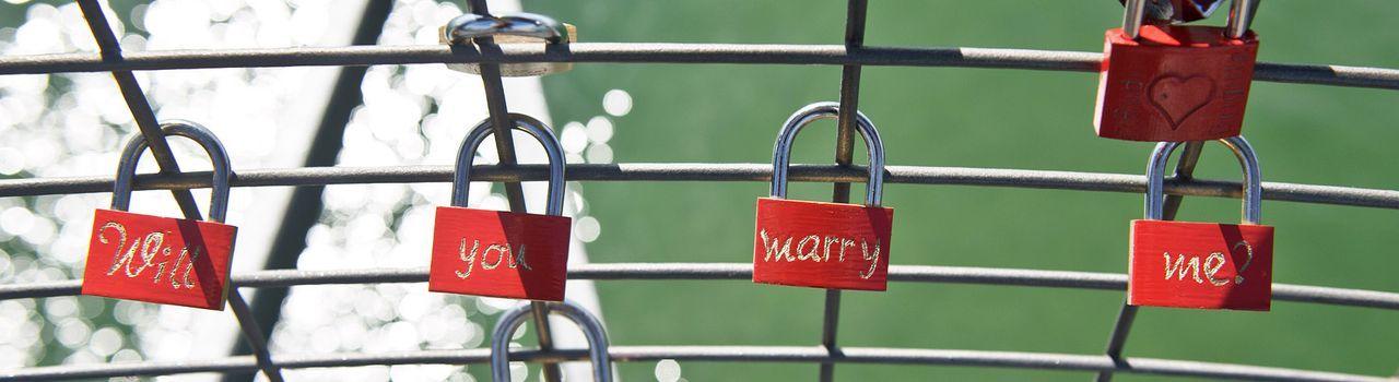 Heiratsantrag-Schloss-dpa - Bildquelle: dpa