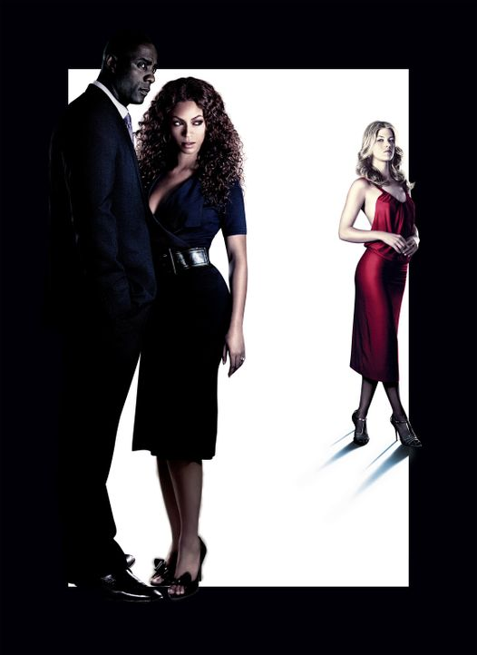Obsessed - Artwork - mit (v.l.n.r.) Idris Elba, Beyoncé Knowles und Ali Larter - Bildquelle: 2009 Screen Gems, Inc. All Rights Reserved.