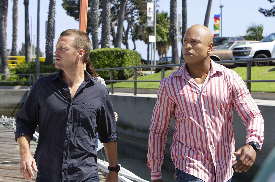 Callen: Ich fühle mich, als wurde ich aus einem Auto geworfen - Bildquelle: CBS Studios Inc. All Rights Reserved.