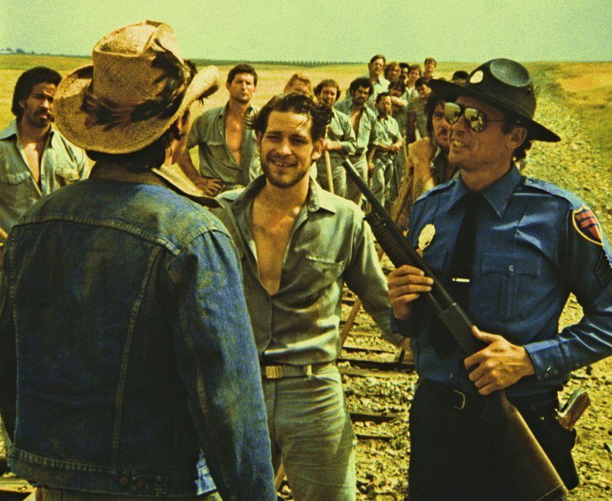 Der gefährliche Gangster Ganz (James Remar, M.) bricht aus dem Gefängnis aus, er will in San Francisco an die Beute eines Überfalls seiner alten... - Bildquelle: Paramount Pictures