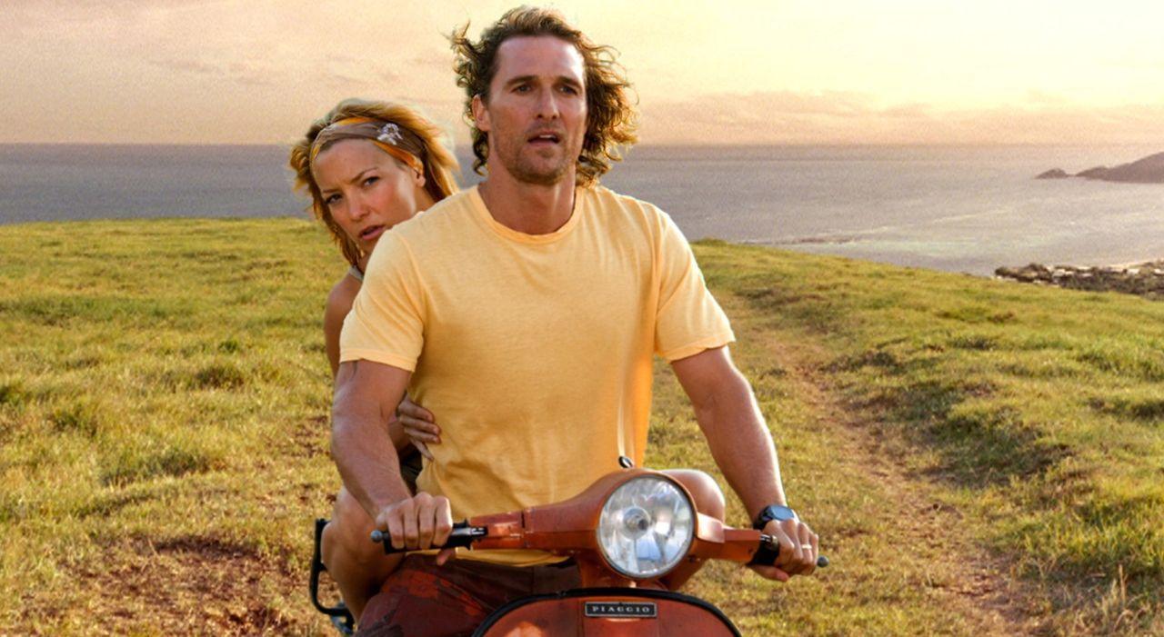 Benjamin (Matthew McConaughey, l.) und Tess (Kate Hudson, r.) begeben sich auf die Suche nach einem mysteriösen Schatz, doch die Suche verläuft ni... - Bildquelle: Warner Brothers