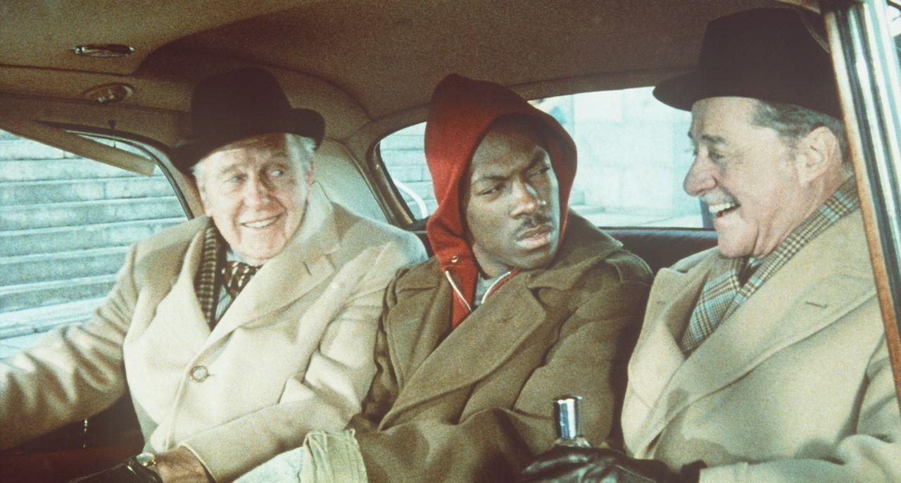 Zwei alte Hasen versuchen ihr Meisterstück: Die Finanzmagnaten Randolph (Ralph Bellamy, l.) und Mortimer Duke (Don Ameche, r.) wollen den Kleingaun... - Bildquelle: Paramount Pictures