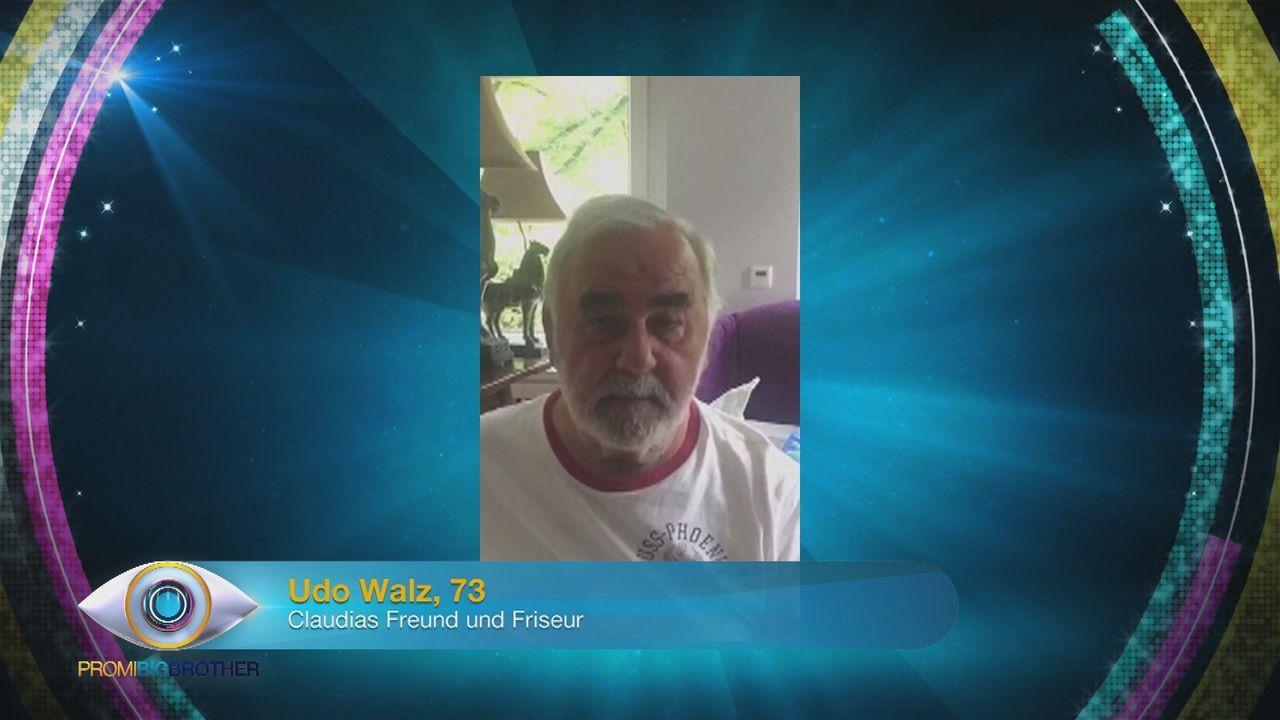 Udo Walz für Claudia - Bildquelle: SAT.1