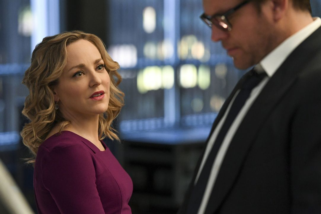 Marissa Morgan (Geneva Carr, l.); Dr. Jason Bull (Michael Weatherly, r.) - Bildquelle: David Giesbrecht 2018 CBS Broadcasting, Inc. All Rights Reserved.