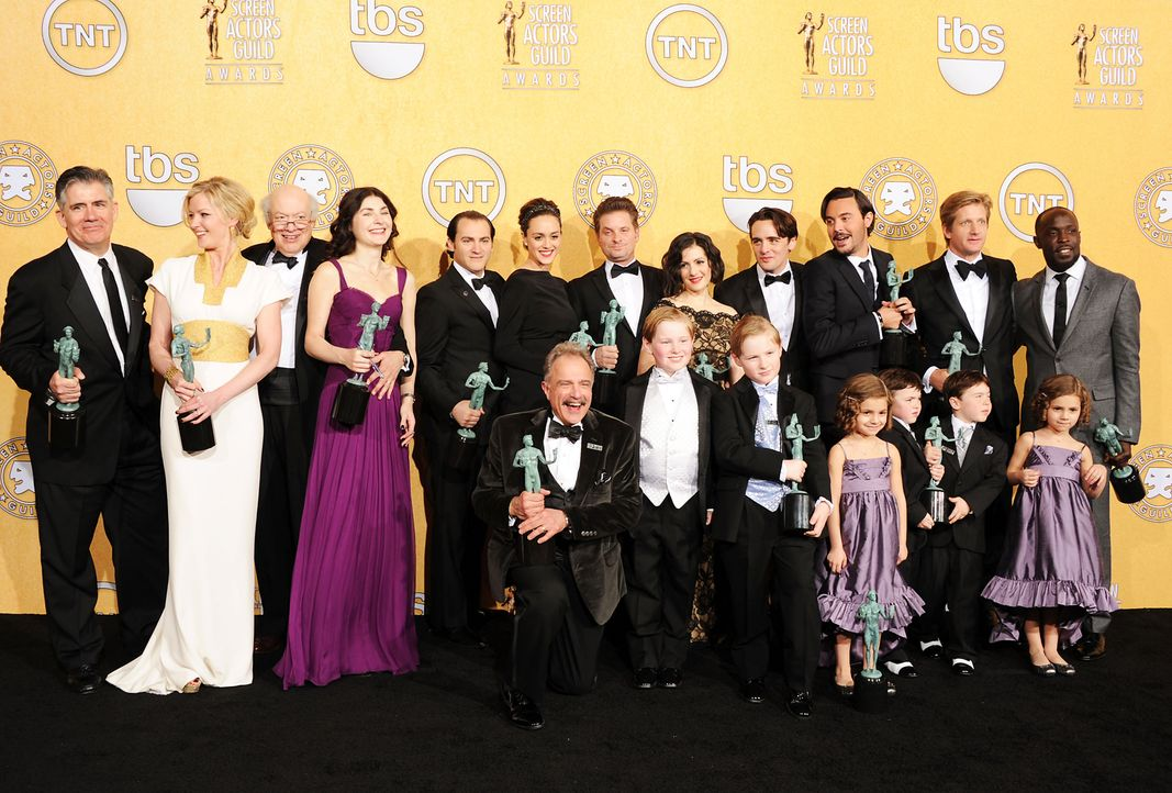 "Die Besetzung von ""Boardwalk Empire"" bei den Screen Actors Guild Awards (SAG)  - Bildquelle: getty-AFP"