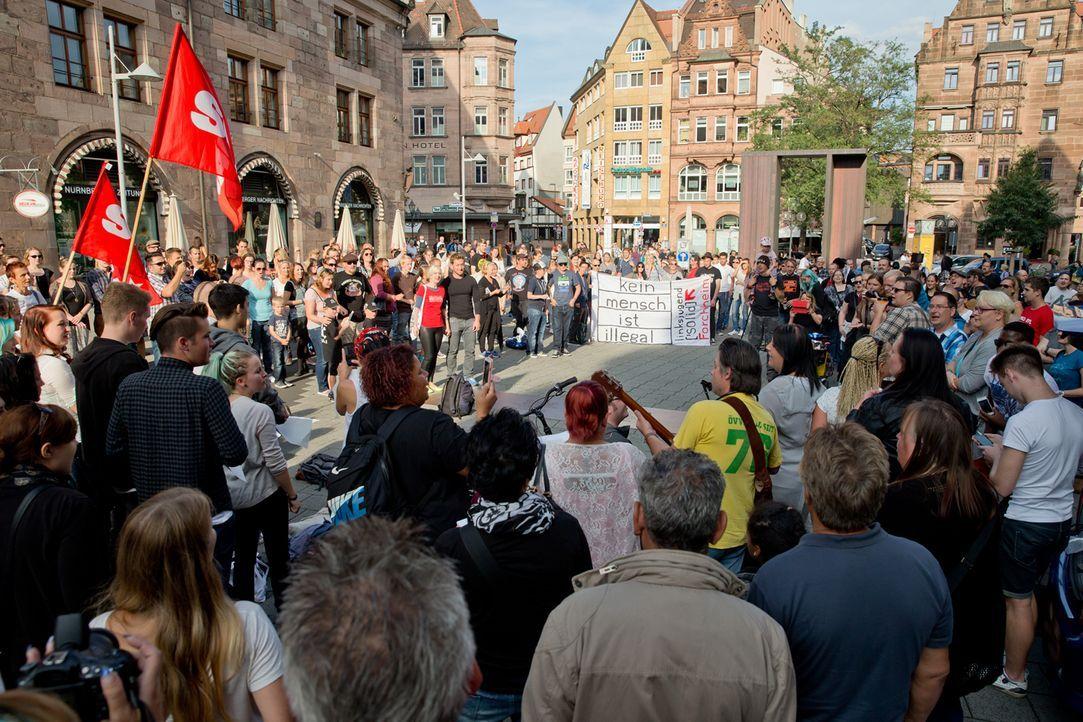 Platz 3: Aktion des Jahres - Bildquelle: picture alliance dpa