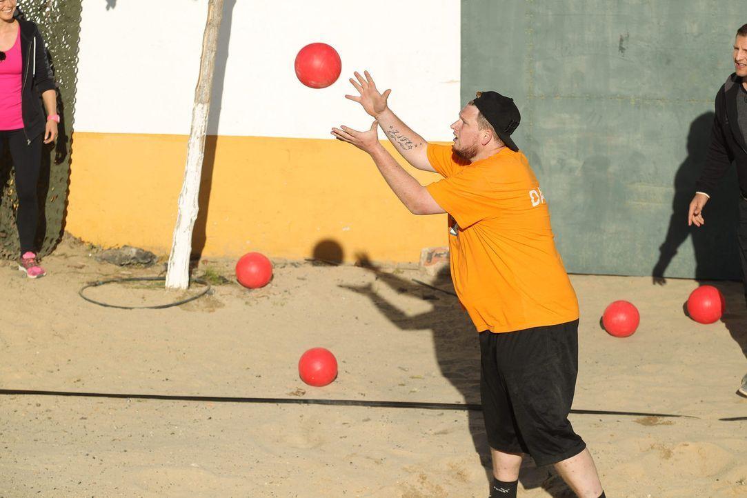 Kann Daniel wieder einen Sieg für Team Orange einfahren? - Bildquelle: Enrique Cano Sat.1