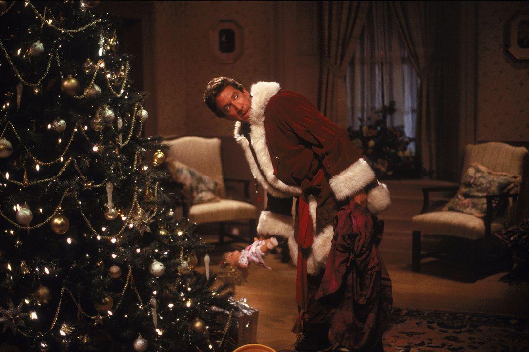 Schon bald muss Scott (Tim Allen) feststellen, dass es keineswegs einfach ist, ein guter Weihnachtsmann zu sein ... - Bildquelle: Buena Vista Pictures