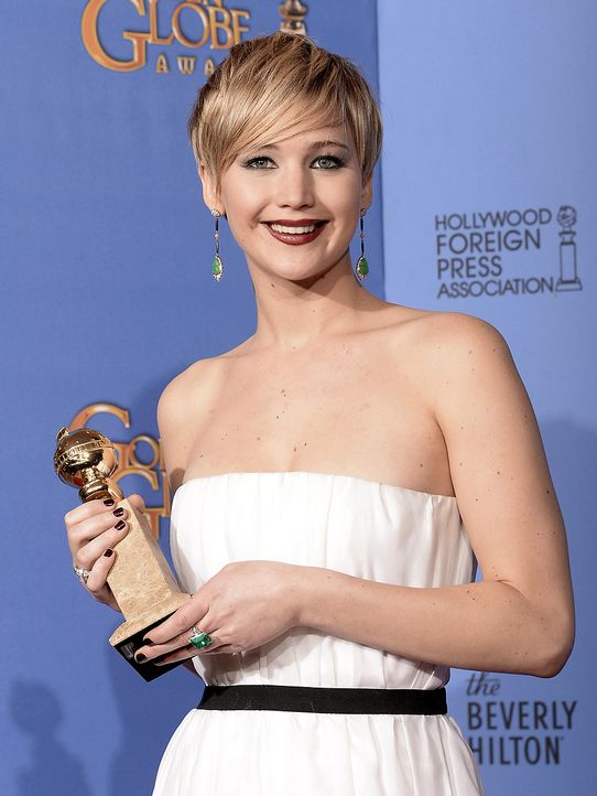 Golden-Globe-Jennifer-Lawrence-14-01-12-getty-AFP - Bildquelle: getty-AFP