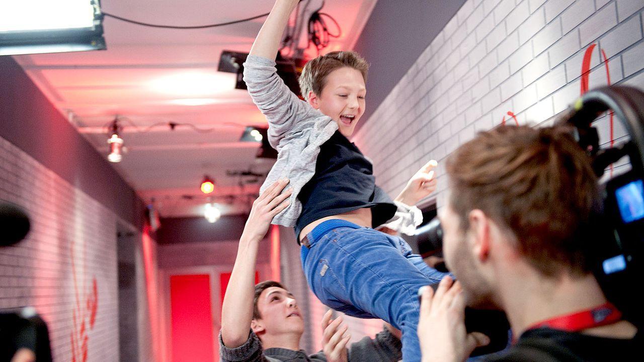 The-Voice-Kids-s01e01-Finn-028 - Bildquelle: SAT.1/Andre Kowalski