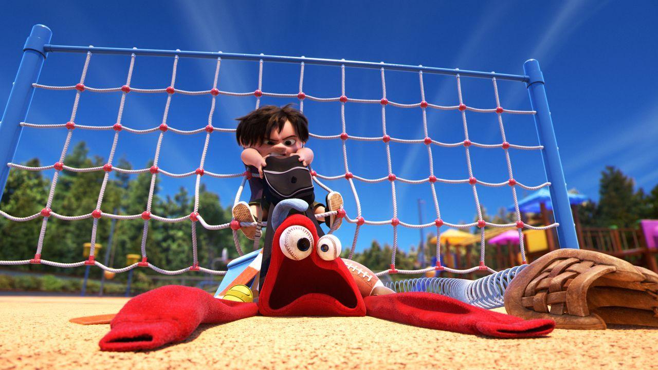J.J. (oben); Lou (unten) - Bildquelle: 2017 Disney Pixar. All Rights Reserved.