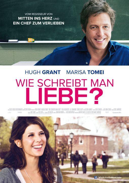 Wie schreibt man Liebe? - Plakatmotiv - Bildquelle: 2014 Constantin Film Verleih GmbH/Anne Joyce.