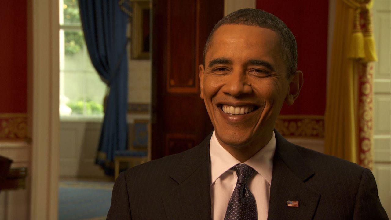 Ein Kamerateam von National Geographic hat den US-Präsidenten fünf Monate lang begleitet. Dabei entstand ein exklusiver und intimer Einblick in da... - Bildquelle: Erin Harvey National Geographic Television International