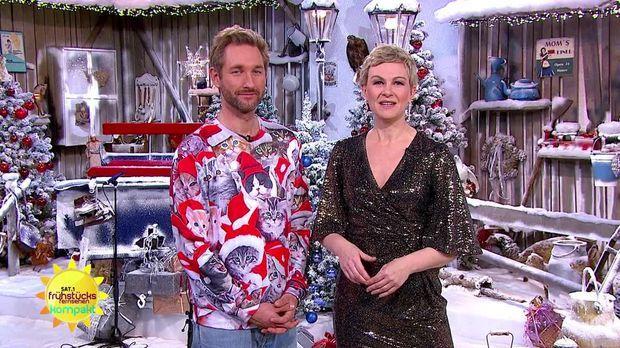 Frühstücksfernsehen - Frühstücksfernsehen - 23.12.2019: Weihnachtswunder, Familie Katzenberger Und Glühwein