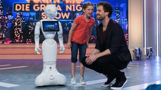 Luke! Die Greatnightshow - Luke! Die Greatnightshow - Roboter-rettung Und Glückliche Glücksrad-gewinner