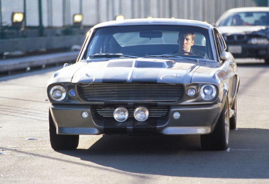 Ob Porsche, Ferrari oder Mercedes - alle Autotüren öffnen sich wie von Zauberhand, wenn Memphis (Nicolas Cage) es will. Denn er war der schnellste... - Bildquelle: Merrick Martin Touchstone Pictures