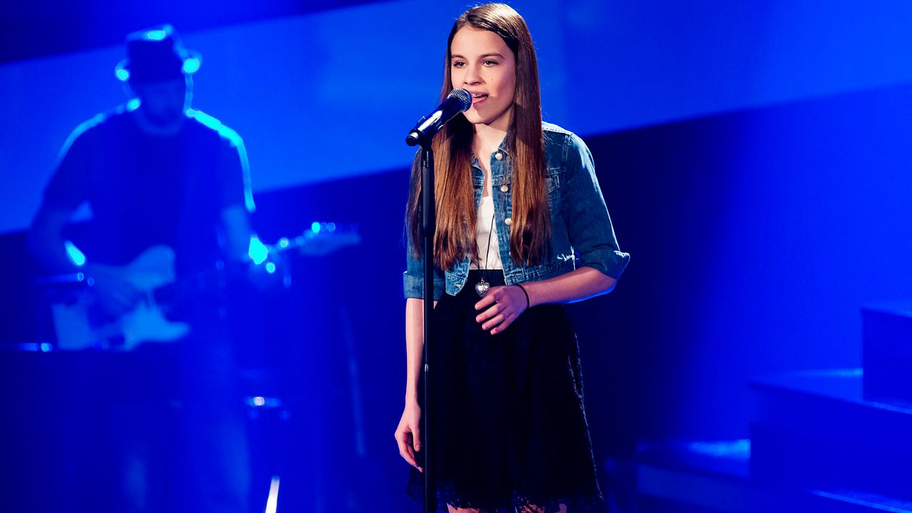 The-Voice-Kids-epi03-Julika-SAT1-Richard-Huebner - Bildquelle: SAT.1/Richard Hübner