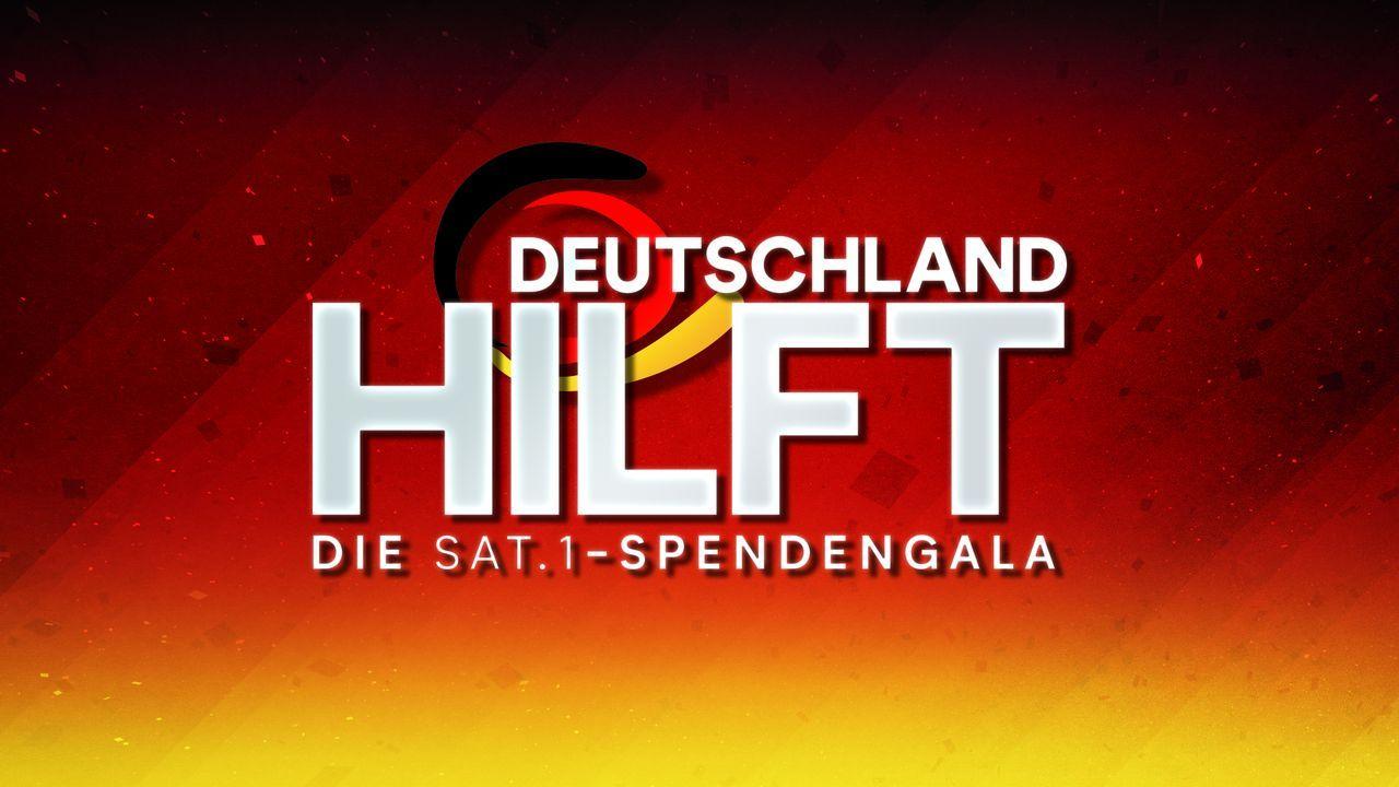 Deutschland hilft. Die SAT.1-Spendengala - Logo - Bildquelle: SAT.1