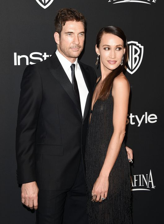 Dylan-McDermott-Maggie-Q-150111-2-getty-AFP - Bildquelle: getty-AFP