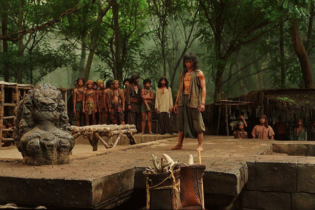 Nachdem Tien (Tony Jaa) knapp der Sklaverei entgangen ist, landet er bei einer Räuberbande, die schon bald sein großes Potential als Kämpfer entdeck... - Bildquelle: Splendid Film