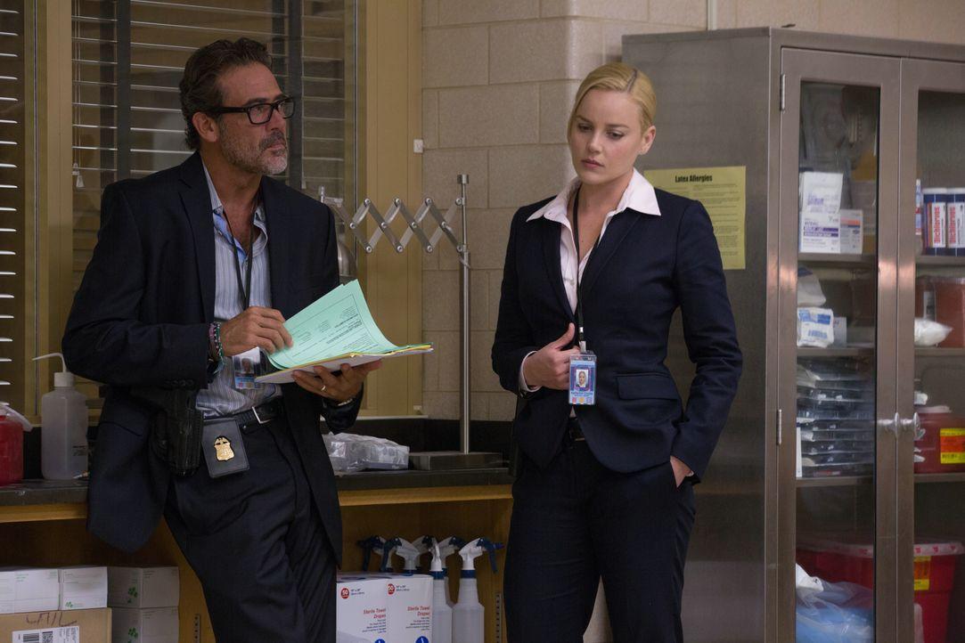 Joe Merriwether (Jeffrey Dean Morgan, l.); Katherine Cowles (Abbie Cornish, r.) - Bildquelle: 2015 Concorde Filmverleih GmbH